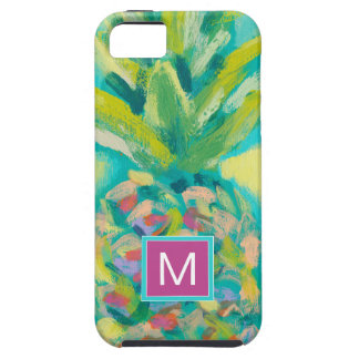 Colorful Tropical Pineapple Tough iPhone 5 Case