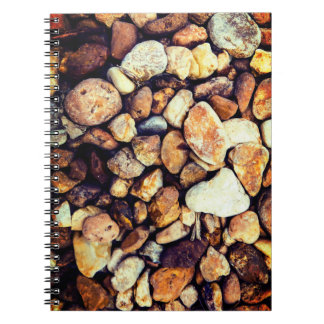 Colorful Tropical Stones Notebooks
