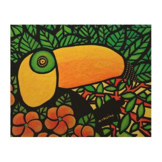 Colorful Tropical Toucan Original Art
