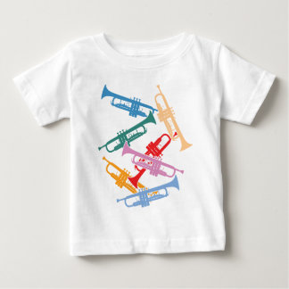 Colorful Trumpets Tees