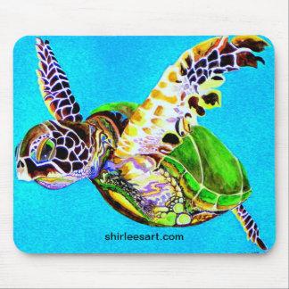 colorful turtle mousepad