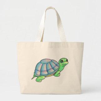 Colorful Turtle Tote Bag