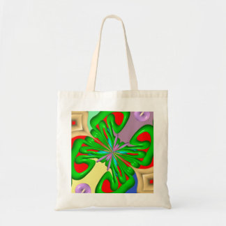 Colorful Ugly art Canvas Bags