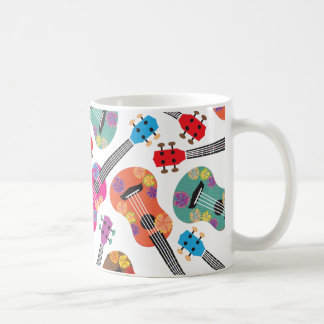 Colorful Ukeleles Coffee Mug