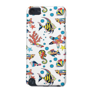Colorful Underwater Sea Life Pattern iPod Touch (5th Generation) Cases