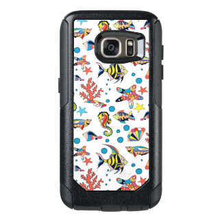 Colorful Underwater Sea Life Pattern OtterBox Samsung Galaxy S7 Case