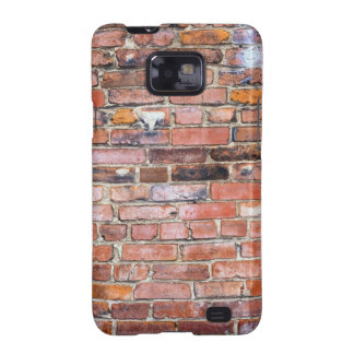 Colorful uneven brick wall galaxy s2 cases