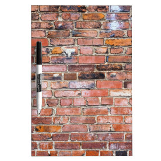 Colorful uneven brick wall Dry-Erase whiteboards