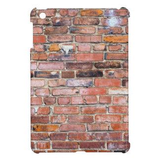 Colorful uneven brick wall iPad mini cases