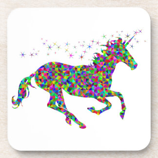 Colorful Unicorn Coaster
