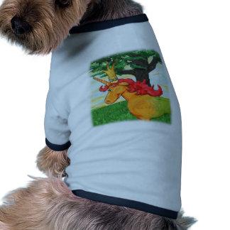 Colorful Unicorn Ringer Dog Shirt