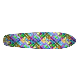 Colorful Unique Modern Skateboard Deck