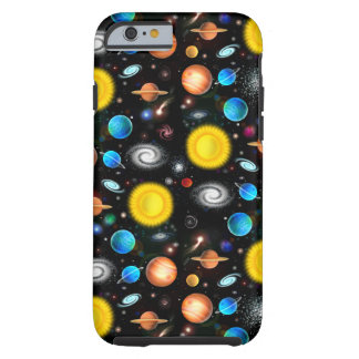 Colorful Universe Astronomy iPhone 6 Case Tough iPhone 6 Case