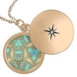 Colorful unusual pattern pendants