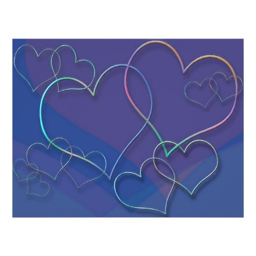 Colorful Valentine Sweethearts Love Designer Flyer