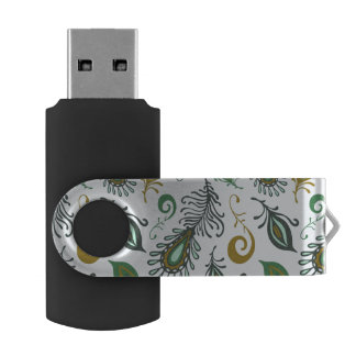 Colorful Various Feathers USB Flash Drive