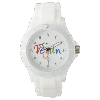 Colorful Vegan Wrist Watch