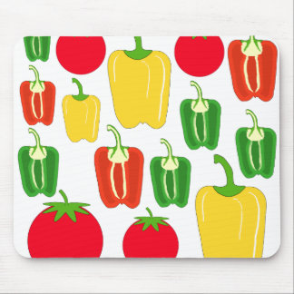 Colorful Vegetables. Mouse Pad