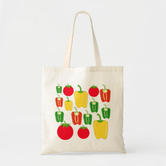 Colorful Vegetables. Tote Bag