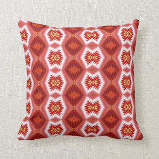 Colorful vertical pattern cushion