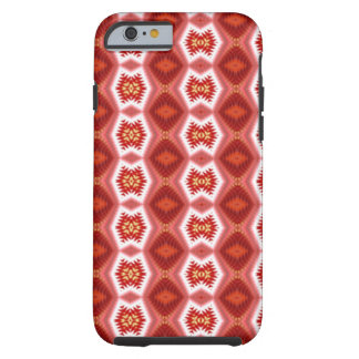 Colorful vertical pattern tough iPhone 6 case