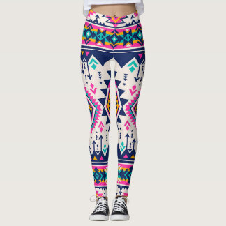 Colorful vibrant leggings