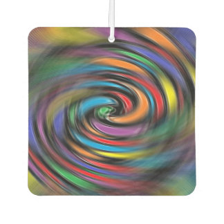 Colorful Vibrations Car Air Freshener