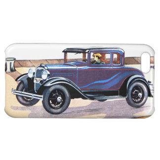 Colorful Vintage Car Sedan iPhone 5C Case