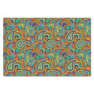 Colorful Vintage Orante Paisley Tissue Paper