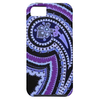 Colorful Vintage Paisley Lavender Violet Purple iPhone 5 Case