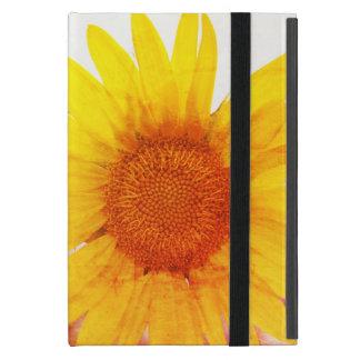 Colorful Vintage Sunflower iPad Mini Case