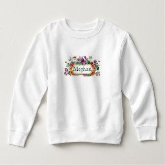 Colorful Vintage Violet Toddler Sweatshirt