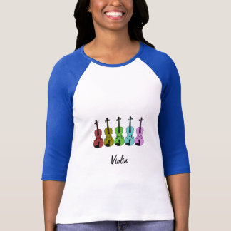 Colorful Violin T-Shirt
