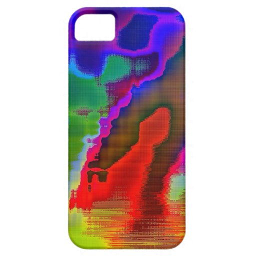 Colorful Vision iPhone 5 Cases