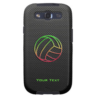 Colorful Volleyball Galaxy SIII Case