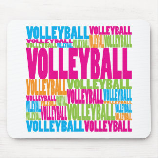 Colorful Volleyball Mouse Mat