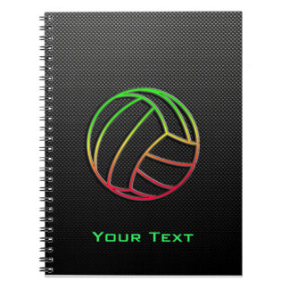 Colorful Volleyball Notebooks