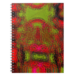 """Colorful Wall Hanging"" Notebook"