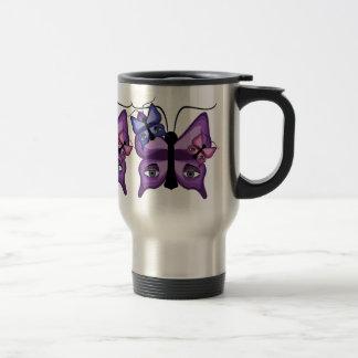 Colorful Watcher Butterflies Coffee Mugs