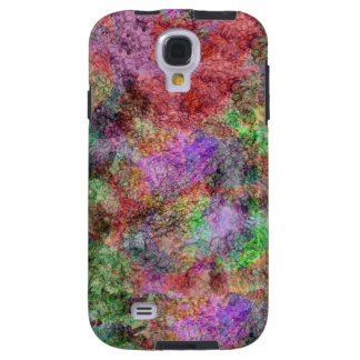 Colorful Water Color Swirl Mist Galaxy S4 Case