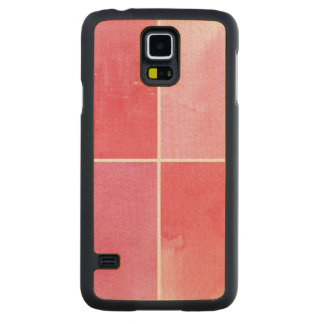colorful watercolor background for your 3 2 carved maple galaxy s5 case