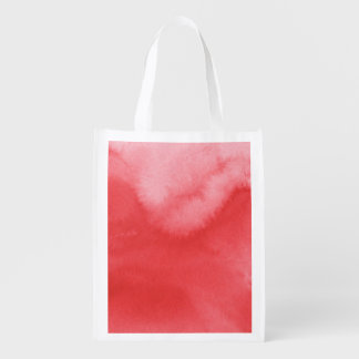 colorful watercolor background for your 3 2 reusable grocery bag
