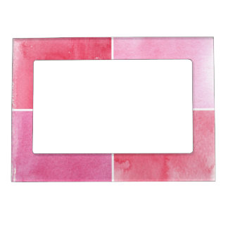 colorful watercolor background for your 3 magnetic frame