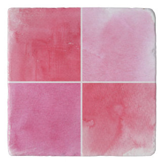 colorful watercolor background for your 3 trivet