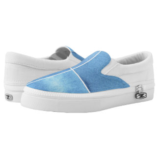 colorful watercolor background for your 4 Slip-On shoes