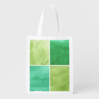 colorful watercolor background for your 6 2 reusable grocery bag