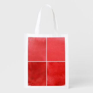 colorful watercolor background for your 7 reusable grocery bag