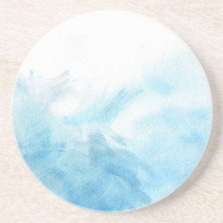 colorful watercolor background for your coaster