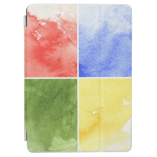 colorful watercolor background for your design iPad air cover
