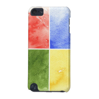 colorful watercolor background for your design iPod touch 5G covers